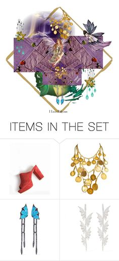 """""""leavesontheceiling"""" by anastasia-pellerin ❤ liked on Polyvore featuring art, fantasy and blog"""