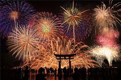 幻想花 Fireworks in Miyajima