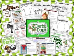 Derby Days Unit.  I love the idea of doing a unit on the Kentucky Derby.