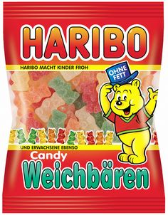 BONBONS,GUMMI CANDIES & LICORICE :: Haribo Weichbaren Gummi Candy 200g - German Cart | Fine Imported Foods from Germany