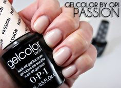 GelColor by OPI - Passion   (review + photos)  #nails #beauty