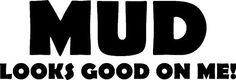 Mud Land Rover TD5 Defender 4x4 Bumper Sticker: Amazon.co.uk: Kitchen & Home