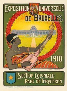 Exposition Universelle de Bruxelles. 1910  J. GILBERT & P. VAN BREMPT