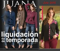 Catalogo de Liquidacion Juana Bonita Julio 2015 Argentina