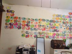 Periodic table of elephants. This took forever to make but is my pride and joy. 118 elements. Made by Kayla McGarvie.