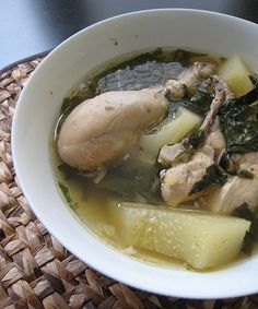 Tinola: Filipino Chicken Soup - Burnt Lumpia: Filipino Food | Filipino Recipes | Culinary Hijinks