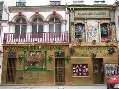 Théâtre de la Comédie Italienne, rue de la Gaité