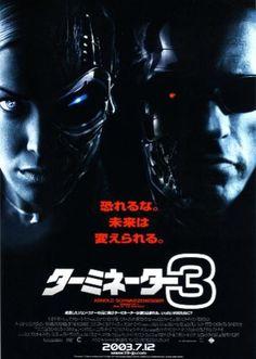 『ターミネーター3』(Terminator 3: Rise of the Machines, T3)は、2003年に公開されたアメリカのSF映画。『ターミネーター』(1984年)、『ターミネーター2』(1991年)から続くシリーズの第3作である。監督はジョナサン・モストウ、主演はアーノルド・シュワルツェネッガー。     キャッチコピーは「恐れるな。未来は変えられる。」。     監督はシリーズの生みの親であり前2作を務めたジェームズ・キャメロンからジョナサン・モストウに交代した。ジョン・コナーを演じる俳優も『ターミネーター2』のエドワード・ファーロングからニック・スタールへ、そして音楽も前作まで担当していたブラッド・フィーデルからマルコ・ベルトラミへと替わった。その結果、前2作とは印象の異なる撮影スタイルで製作されている。     シリーズ中初の女性の容姿をしたT-Xという型のターミネーターが登場し、最新のVFX(視覚効果)で描かれる。