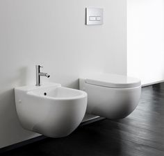 Bauhaus Stream II Wall Hung Toilet #Bauhaus #toilet #bathroom