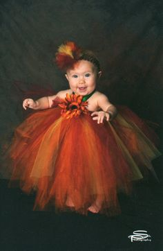 Annie's Princess Tutu Halter dress...sizes - 2-3 years old..Plus a FREE Flower clip. $50.00, via Etsy.