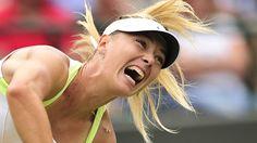 Maria Sharapova's grunt face