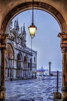 Praça de Sāo Marco, Veneza. Itália.