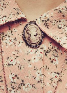 Cameo and floral