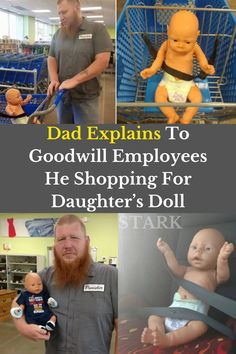 As parents, we sometimes go to great lengths to make our children happy. But one Indiana dad actually won the internet's heart for a promise he kept to his daughter, and it involved an old baby doll named Davey.