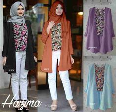 Produk Terbaru: Baju Muslim Wanita Hazma Tunik - http://www.bajugamisku.com/baju-muslim-wanita-hazma-tunik
