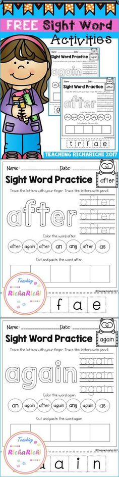 Bang! Sight Word Game - We made and played this last night but - omas k che k ln