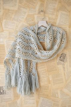 Beautiful scarf ♥ hairpin lace
