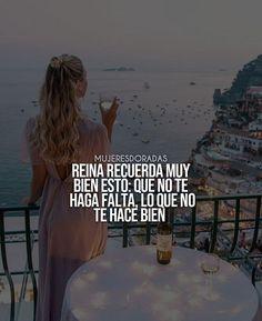 Nota mental diaria reinas ❤👑 @mujeresdoradas mujeresdoradas#mujerdorada#soymujerdorada #motivacion #frases #emprendimiento #mujeres#mujeresdoradas #exitos #negocios #exito#mujeresexitosas #emprendedora #positiva#valesoro #somosreinas #fé #dios #amor#metas #feliz #millonaria #dinero #sueños#esperanza Woman Quotes, Life Quotes, Spanish Quotes, Good Advice, Girl Power, Motivation Quotes, Qoutes Of Life, Pretty Quotes, Prince