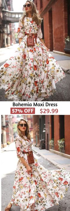 Robes Vintage Décontractées – Best Ideas in 2020 Pretty Outfits, Pretty Dresses, Beautiful Outfits, Cute Outfits, Modest Fashion, Boho Fashion, Fashion Dresses, Ladies Fashion, Fashion Vintage