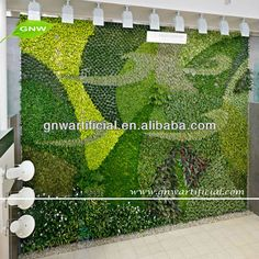 Exceptionnel Lush Indoor Artificial Living Wall 72in.L X 48in.H | Living Walls, LUSH And  Walls