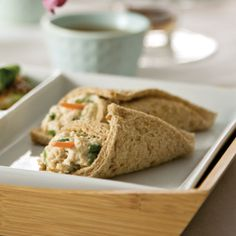 Sesame-Ginger Chicken Salad Sandwiches  Great for Tea Time!!!!