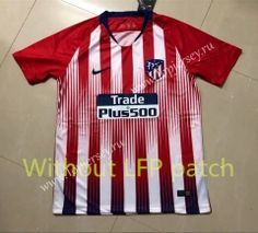 a3ee1018109 Without LFP Version Atletico Madrid Home Red and White Thailand Soccer  Jersey