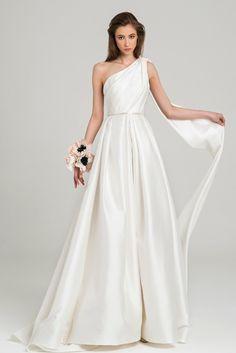 19 Best One Shoulder Wedding Dresses Images In 2020 Wedding
