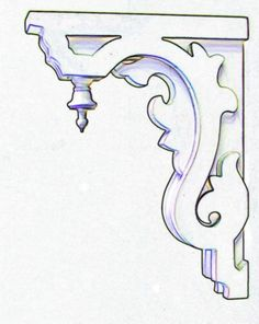 corbels and brackets | Details about CORBEL Porch Bracket 2 1/2 inch thick Corbels