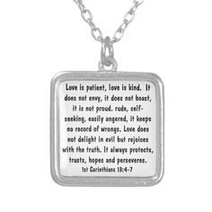 bible verse Psalm 119 encouragement necklace, would be great for graduation!