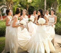 Beautiful Bride & Bridesmaid picture