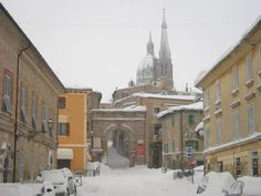 Ostra vetere under the snow