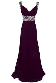 Sunvary Sequin Chiffon Bridesmaid Dresses Evening Prom Gowns Long Mother of the Groom Dress US Size 2- Grape Sunvary http://www.amazon.com/dp/B00M92IIWY/ref=cm_sw_r_pi_dp_bV54ub0K85AEV