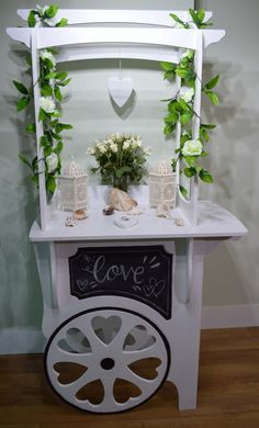 Candy Cart Wedding Love Cute http://www.ebay.co.uk/itm/Candy-Cart-Sweet-Cart-Wedding-Events-Cart-For-Sale-Not-Hire-/191518293352?ssPageName=STRK:MESE:IT
