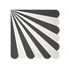 Black and White Stripe Party Napkins by MeriMeri www.theoriginalpartybagcompany.co.uk