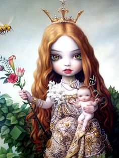 Mark Ryden- My mum gave me this beautiful print framed when I had my bub:)