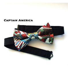 Superhero Bow Tie | Dapper & Chic Online Boutique