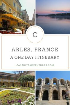 Now on the blog - a guide to Arles, in Provence, France - How to spend one day in Arles, France - an itinerary that mixes ancient Roman history with Vincent Van Gogh art