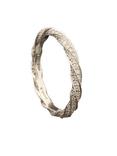 Michael B. - Platinum Twist Eternity Band - at - London Jewelers
