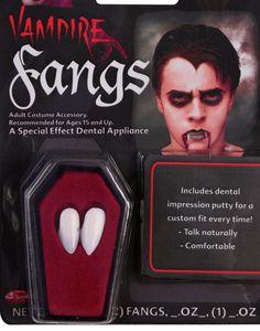 Vampire Fangs (New 2013 Model) - with hot melt adhesive: Amazon.co.uk: Toys…