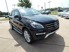 2014 Mercedes-Benz M-Class ML350 ML350 4dr SUV SUV 4 Doors Black for sale in Houston, TX Source: http://www.usedcarsgroup.com/used-mercedesbenz-for-sale-in-houston-tx