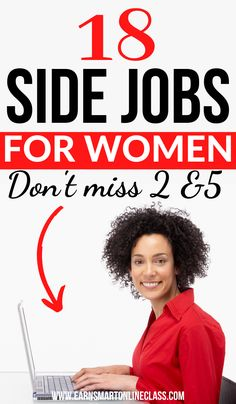 Are you a woman searching for small business ideas to make money? Here's a list of the best business ideas for women that you can start in 2020!  Lean how to earn money from home using side jobs for women #workfromhome #makemoneyonline #sidejobstomakemoney #sidehustleideas #startanonlinebusiness #homebusiness #waystomakemoney #howtomakemoney Earn Money From Home, Earn Money Online, Make Money Blogging, Way To Make Money, Money Tips, Work From Home Careers, Work From Home Opportunities, Best Business Ideas, Business Ideas For Women Startups