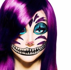Buy Kitty cat mask costume dress up School Dance Prom make up Party Halloween Fun at online store Cat Costume Makeup, Cat Costumes, Halloween Costumes, Halloween Fun, Maquillaje Halloween, Halloween Makeup, Cheshire Cat Makeup, Dead Makeup, Cats For Sale