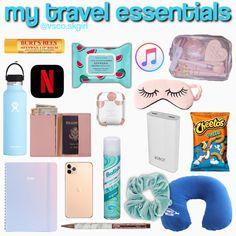 Road Trip Checklist, Travel Packing Checklist, Road Trip Packing List, Packing Tips For Vacation, Suitcase Packing, Road Trip Hacks, Vacation Travel, Travel Bag Essentials, Road Trip Essentials