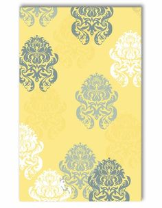 Brocade Yellow Rug- this is perfect!