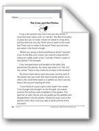 The Crow and the Pitcher (A fable). Download it at Examville.com - The Education Marketplace. #scholastic #kidsbooks @Karen Echols #teachers #teaching #elementaryschools #teachercreated #ebooks #books #education #classrooms #commoncore #examville