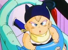 Totally Vegeta's son :D
