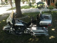 2003 Harley-Davidson ULTRA CLASSIC Touring , silver@black, 22,500 miles for sale in Green Bay, WI