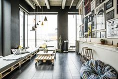 Kaospilot // student lounge — Bastian & Liu