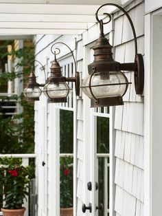 Light Up Your Landscape; Install low-voltage lighting to play up landscaping and architectural elements. Uplights, wall-washers, and footlights give a warm welcome in the evening and highlight your home's texture and dimension