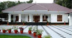 House Plans Modern Farmhouse Design 26 Ideas For 2019 Village House Design, Bungalow House Design, House Front Design, Kerala Traditional House, Traditional House Plans, Indian Home Design, Kerala House Design, Model House Plan, My House Plans